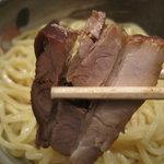 つけ麺 椿 - つけ麺 椿:チャーシュウ