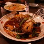 竹海 - 魚の丸揚げ