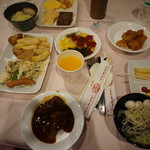 館のレストラン -