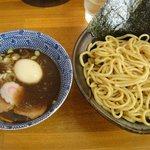 恵比寿 - つけ麺750円+中盛50円+煮玉子100円