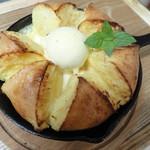 カフェハーツ - 自家製ベーグルのフレンチトースト