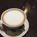 Cafe de 武 - ほうじ茶ラテ