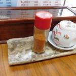 たまる屋 - テーブルの設え