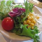 常陸牛きくすい - 常陸牛ステーキセット(サラダ)