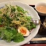 味亭 - 平成28年8月12日冷やし担々麺900円
