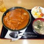 角八 平島店 - 洋風かつ丼