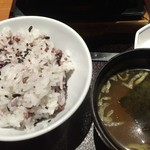 かごの屋 - お米は十穀米