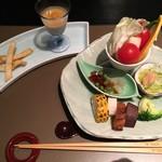 杓凪華 - 料理写真:先付・前菜