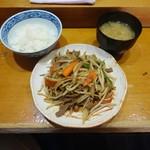 uduki - ジンギスカン定食