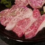 芝蘭 - カルビ(1200円)