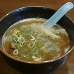 55177793 - 剛つけ麺のつけ汁