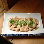 天満寅蔵 - あっさりと『むし鶏ポン酢』 450円