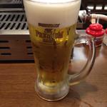 スタミナホルモン食堂 食樂 - 生ビール