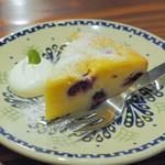 ときの木 - サワーチェリーのチーズケーキ