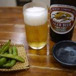 長寿庵 - 瓶ビール~☆