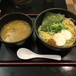 麺匠 桂邸 - 濃厚鶏つけ麺(並)780円(※麺:あつもり)