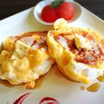 ソレイユカフェ - 天使のパンケーキ