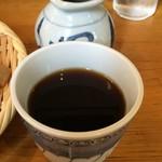 ラーメン よっしー - ◆中華ざるは日本蕎麦のつけ汁で食べます(*^^)v