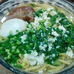 Agariya - からし菜島豆腐そば