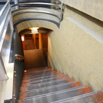 越後屋 久保田 - 2016/8/19  階段を降りて行くと。。。