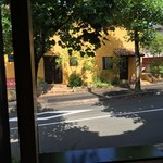 Restaurant Ange jeu - 店内から外の風景