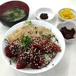 しぶき亭 - ミックス丼 1000円