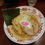 ぶぶか - 元味 黒丸油そば ¥640