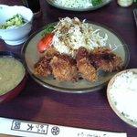 とんかつ大関 - ひれカツ定食