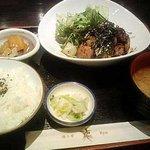 酒斗肴 龍 - ブロック焼き定食