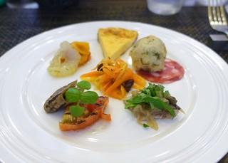 リストランテ シーヴァ - 本日の前菜盛り合わせ