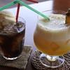 PaAni - ドリンク写真:コーラフロートとココパイン