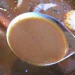 ルンビニ - スープはこんな感じ