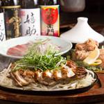 くりのすけ - 各コースに入ってる淡路鶏ステーキ!