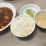 中国酒家 菜都 - 麻婆ランチ(¥850)