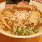 和久井 - 2016年8月 煮干しラーメン大盛り