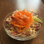 スワンレイクパブエド - ランチセットのサラダ
