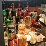デルタ・スカイクラブ・ラウンジ - お酒は、これにプラスワインと日本酒、ビールはプレモルかアサヒのサーバーがありました