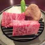 板前料理 幸㐂 - 料理写真:飛騨牛リブロース