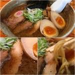 55209123 - 濃厚節系ガツン醤油味太麺930円