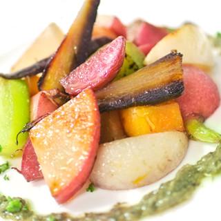 農家直送!旨みがギュッと詰まった新鮮野菜をご提供します。