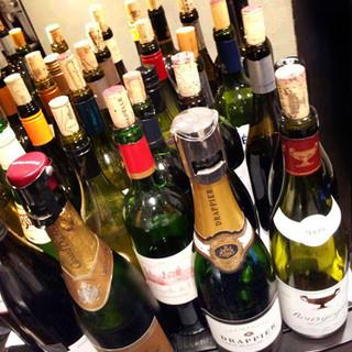 試飲も可能!お客様のお口に合うワインを見つけ出します。