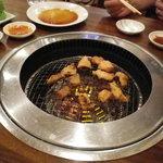 焼肉OKINA - 写真を撮り忘れて食べてしまったので、皿に載った写真はありません。