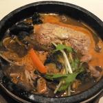 スープカリー 仙堂 - チキンカレー(辛さ10番)