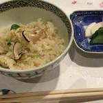 旬菜 おぐら家 - おぐら家・松茸ご飯