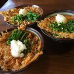 大黒屋 - 天ぷらうどん(貝柱):温麺