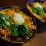 大黒屋 - 天ぷらうどん(貝柱):蕎麦~美味しいが、やはりうどんの方が好みか・・