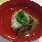 旬菜 おぐら家 - おぐら家・松茸と鱧のお椀