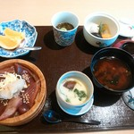 55212187 - 手こね寿司定食
