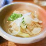 神楽坂 茶寮 - おばんざい鶏つくね