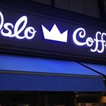 オスロ コーヒー - 店頭看板